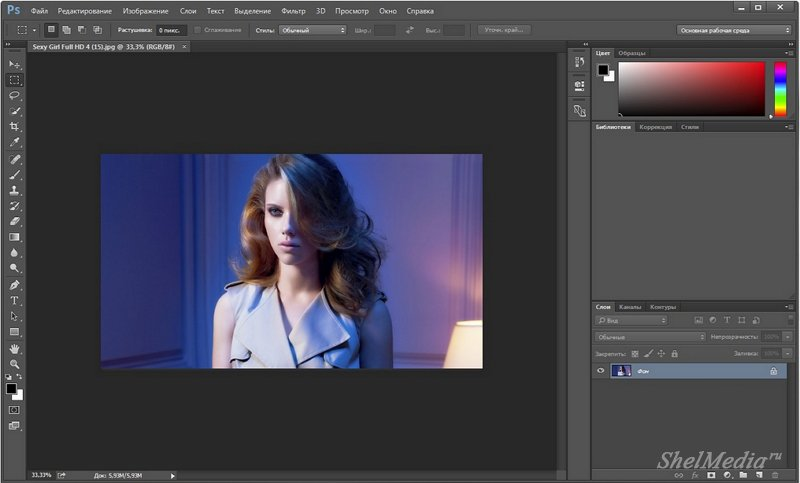 реферат на тему знакомство с adobe photoshop