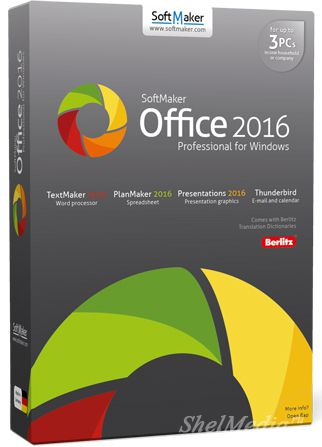 SoftMaker Office Professional 2016 rev 757.0510 RePack/Portable - офисный пакет