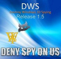Destroy Windows 10 Spying 1.6 Build 717 - отключение слежки в Windows 10