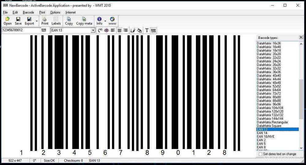 Скачать бесплатно программу для создания штрих кода
